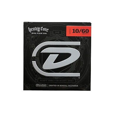 Dunlop guitar Strings Electric Heavy Core 7 string guitar 10-60