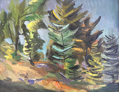 """Henri Masson, RCA, Canadian, oil painting, signed, 16"""" x 20"""""""