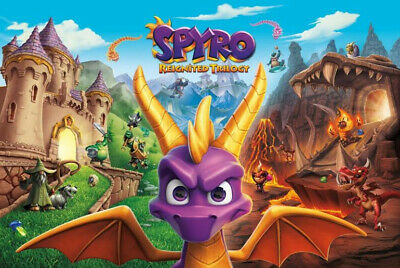 SPYRO REIGNITED TRILOGY PC Steam offline VIP