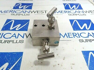 Tyco Ptmvis-4 High Pressure Manifold Valve 4000-6000 Psi *New*