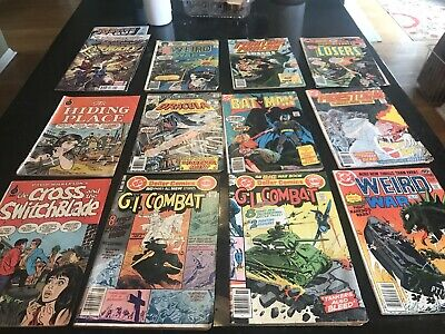 comic book lot mostly DC, one Marvel , two Spire. Bronze Age.
