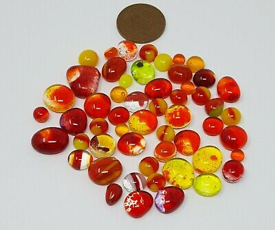 90 COE Bullseye Glass Fusing Dots Frit Balls luscious lolly stripes