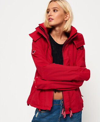Superdry Pop Zip Hooded Arctic SD-Windcheater