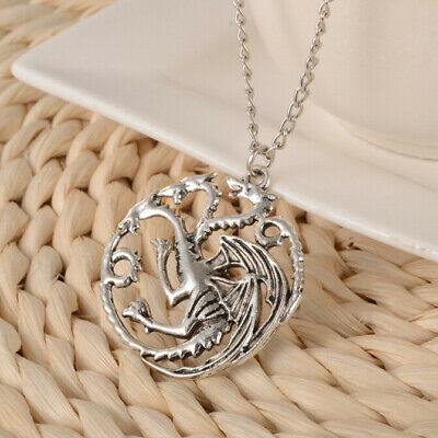 The Song Of Ice And Fire Game Of Thrones Daenerys Targaryen Dragon Necklace