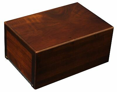 Small Economy Wooden Urn Box Small