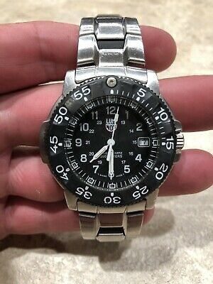 Luminox Series 3100 Navy Seal Dive Watch Stainless Band