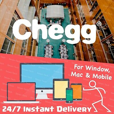 ☆Instant Delivery☆ Chegg Study Pack 30-Day Subscription Private Account