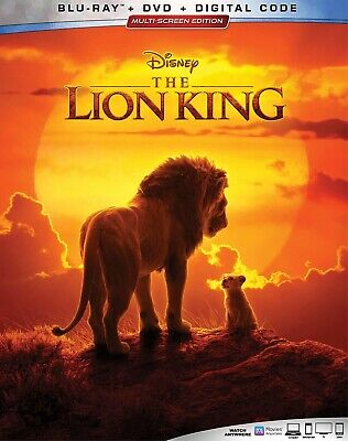 * THE LION KING * 2019 LIVE Disney Blu-Ray Disc ONLY Like New No Digital No Case