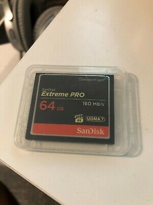 SanDisk Extreme Pro Compact Flash 64GB(CF) Memory Card 160MB/s UDMA 7
