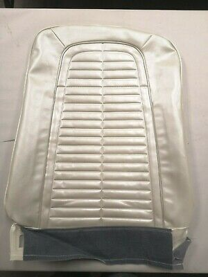 1967 1968 Firebird Standard Front Bucket Seat Covers - Pearl Parchment