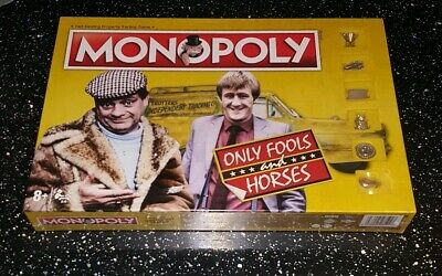 Only Fools and Horses Monopoly Game with Silver Token Pieces new and sealed