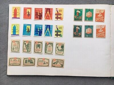 """Matchbox Labels Hungary Very Old Vintage """"Be Aware!"""" Complete Set Of 25"""