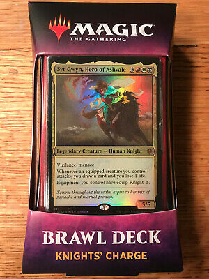 MTG Brawl Deck KNIGHTS' CHARGE Throne of Eldraine Magic the Gathering NEW SEALED