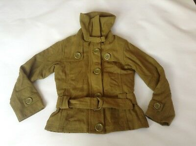Girls GENUINE Next Signature Lined Hooded Jacket Coat Age 9-10 Years Old Vgc
