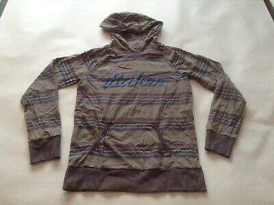 Boys Genuine Ted Baker Striped Hooded Jumper Top SIZE Age 13-14 Years vgc