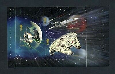 GB 2015 Booklet pane STAR WARS  SG 3783a  MNH / UMM FV£2.10