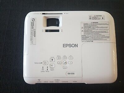 Epson EB-S130 Projector H761B
