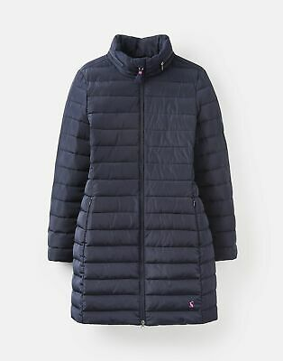 Joules 209094 Longline Padded Jacket in MARINE NAVY