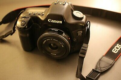 Canon Eos 5D mark 1 + objectif Canon EF 40mm f2.8 STM