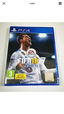 FIFA 18  PS4 Game New And Sealed