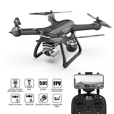 Holy Stone HS700 Brushless GPS RC Drone with 1080p 5G WiFi Camera FPV Quadcopter