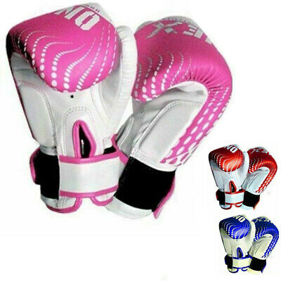 MMA Punch Bag Mitts Muay Thai Sparring Training Kids Boxing Gloves Junior Punch