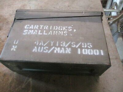Vintage Cartridges small arms ammo box