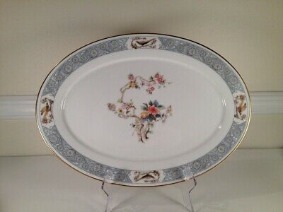 """Lenox China Ming Blossom 16"""" Oval Platter Rare Find Replacement Piece"""