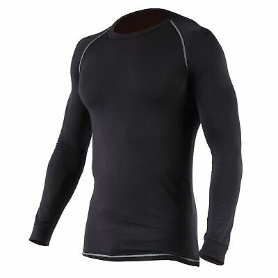"""Dickies Baselayer Thermal Vest, Size XS (32-34"""") in Black"""