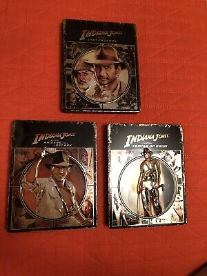 Indiana Jones Blu Ray Steelbook Metalbox Fuori Catalogo