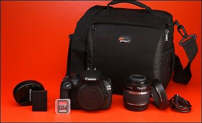 Canon EOS 1200D DSLR Camera,With 18-55mm Zoom Lens kit + 4,662 Shots USB Charger