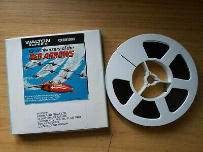 Super 8mm sound 1X200 10th Anniversary of the RED ARROWS. Lpp polyester print.