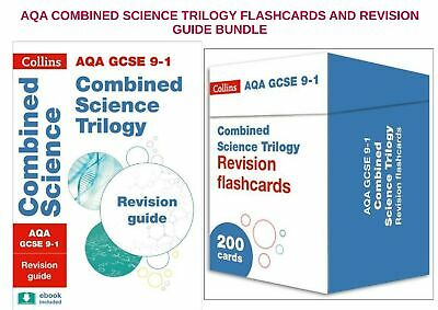 Collins Gcse Combined Science Trilogy Physics Aqa Revision Book & Flashcard