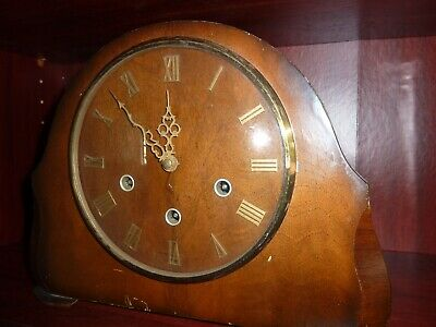 1930s Mantel Clock Westminster Chimes