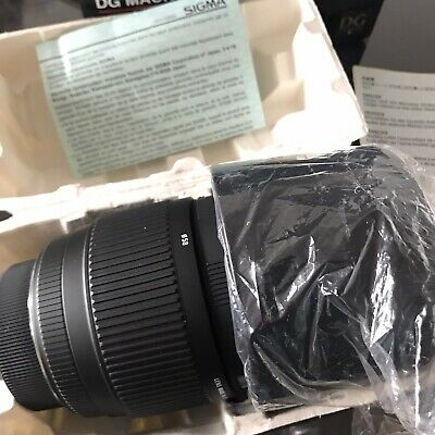 Sigma 70-300 Nikon/Canon Adapter Included