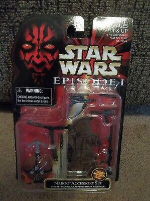 """Star Wars Episode 1 TPM Naboo Accessory Kit """"Brand New"""""""