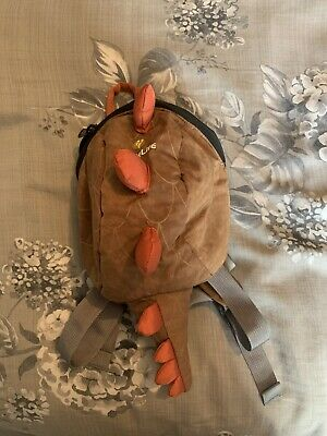 Dinosaur Little Life Backpack with Reins