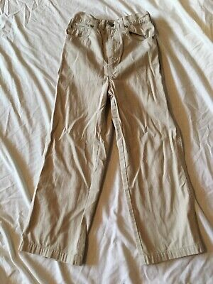 Mothercare boys beige trousers - age 5-6 years