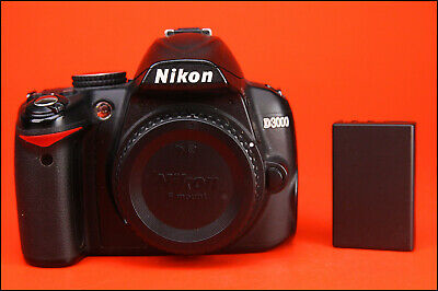 Nikon D3000 DSLR Camera, Sold with Battery, Full Working Order only 10,049 Shots
