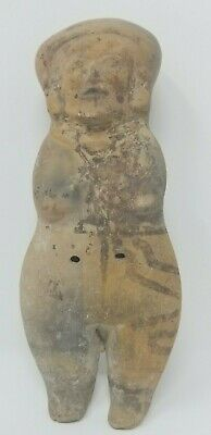 Bahia Ecuador Pre-Columbian Figure  Ancient Genuine Ecuadorian Statue 10 Inches