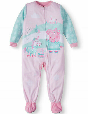 Peppa Pig Toddler Girls'  Blanket Sleeper Pajama