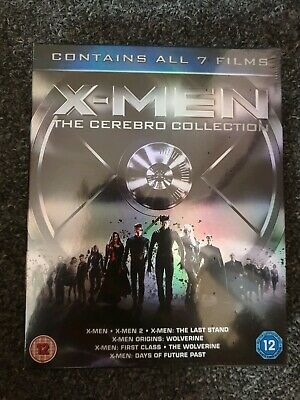 X-Men - The Cerebro Collection (BLU-RAY 7 DISC BOX SET) *NEW/SEALED*