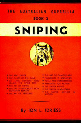 NEW Sniping By Ion Idriess Paperback Free Shipping