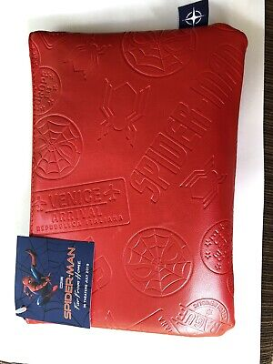 New SEALED United 'Spider-Man: Far From Home' Limited Edition Amenity Kit- Red.
