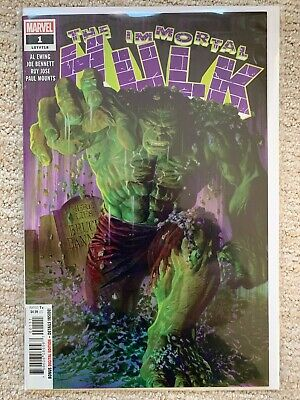 Marvel Comics The Immortal Hulk #1 first 1st print very rare out of print