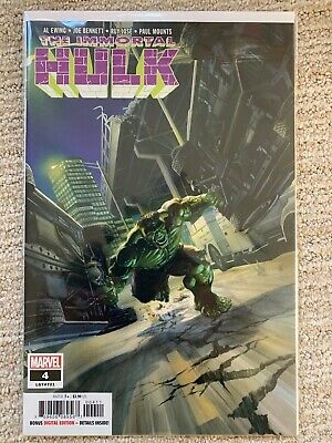 Marvel The Immortal Hulk #4 first 1st print - out of print RARE