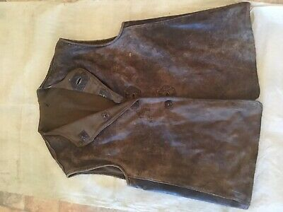 Jerkin Leather Size No.1 Made By W.c. Moyle & Son