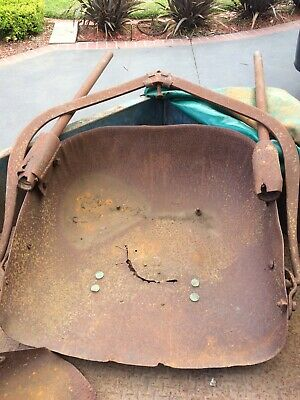 Antique Vintage Early Horse Drawn Scoop