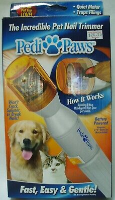 Pedi Paws Pet Nail Trimmer