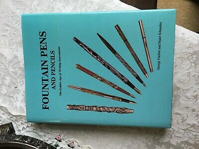 1990 Large Fountain Pen Book Fischler & Schneider serious collector's Library